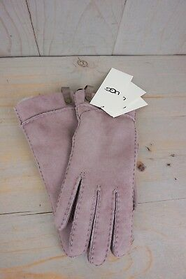 8a2a7c617 Ugg Tenney Dusk Suede Sheepskin Winter Gloves Womens Medium Nwt • 89.00$