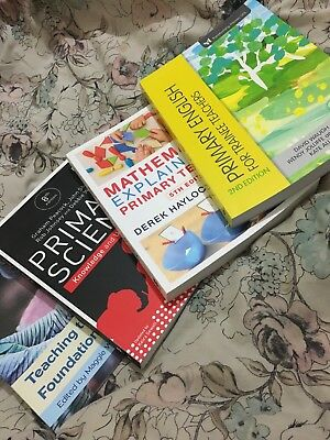 £70 • Buy Brand New PGCE Primary Education Teacher Training CORE Texts Book Bundle.