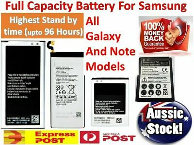 AU12.17 • Buy OEM Battery Replacement Samsung Galaxy S9 Plus S8 S7 S6 Edge S5 S4 S3 Note 8 5 9