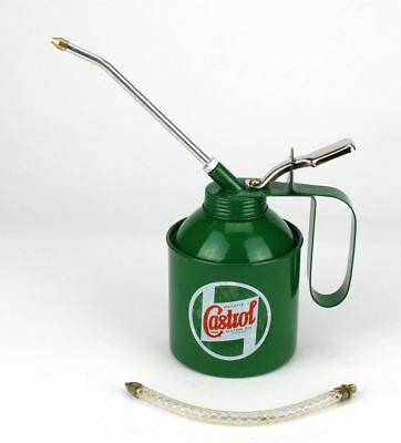 £11.95 • Buy Genuine Castrol Classic Oil 500ml Vintage Oil Can Lever Pump