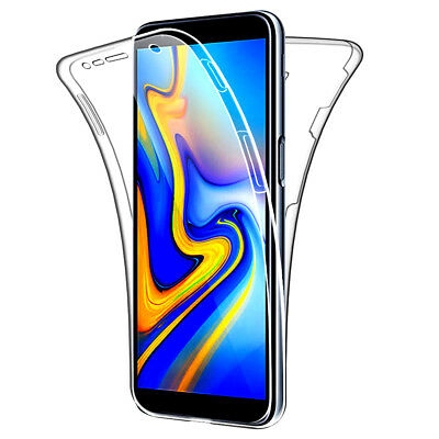AU7.18 • Buy SDTEK Samsung Galaxy J6+ Plus Case 360 Full Cover Silicone Front + Back