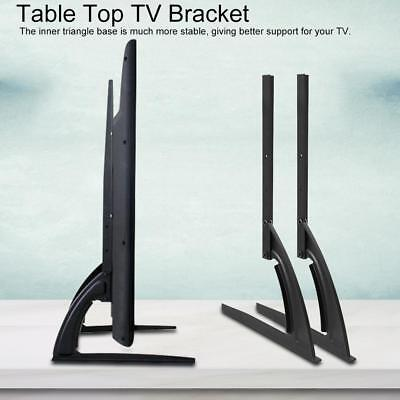 Bracket For 14 -70  Flat LED LCD Screen TV Desktop Table Top Mount Stand Holder • 16.99$