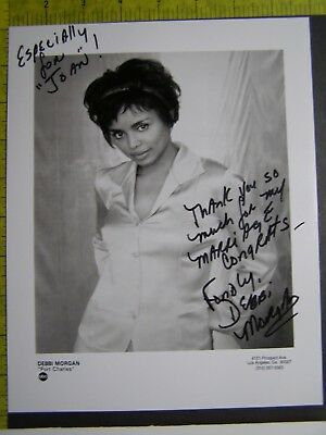 $ CDN49.99 • Buy Authentic Signed Autographed Photo Debbi Morgan The Hurricane All My Children