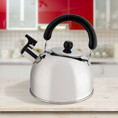 New/Durable Camping Stove Kettle Hob Gas Stainless Steel 2 Litre CLEARANCE UK • 10.59£