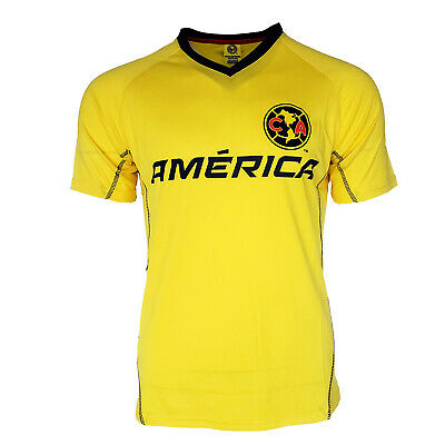 $14.99 • Buy New Club America Jersey Training Mens Aguilas Del America FMF Mexico Yellow 5