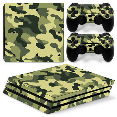 AU11.27 • Buy PS4 Pro Playstation 4 Pro Console Controllers Skin Decal Sticker Camouflage Camo