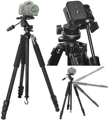 AU132.06 • Buy True Heavy Duty 80  Professional Tripod With Case For Panasonic Lumix DMC-FZ70