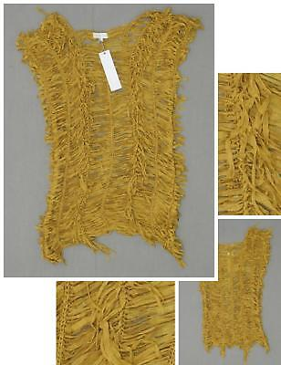 NWT Lovely Girl Women's Tied String Tunic Top Blouse Shirt Camel M/L • 8.68£