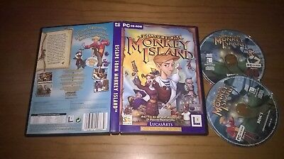 Escape From Monkey Island PC • 4.99£
