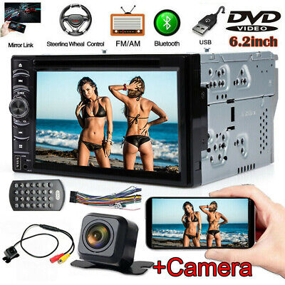 $125.30 • Buy For Hummer H1 H2 07 06 05 04 03 Car Stereo DVD CD Radio Bluetooth AUX USB+Camera
