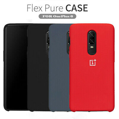 AU7.73 • Buy For OnePlus 8 7T Pro 6T 5T Original Silicone Shockproof Genuine Back Case Cover