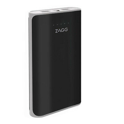 AU26.80 • Buy Zagg Ignition 12 12000mAh 2.1A Power Bank With LED Torch - Black