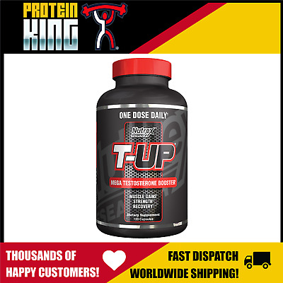 AU68.95 • Buy Nutrex T-up 120 Caps Test Booster D Aspartic Acid Daa Zma Testosterone Support