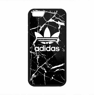 AU28.15 • Buy Adidas Black Marble Logo Print Plastic Case IPhone 5s 6s 7 8 X XS XR 11 Pro Max