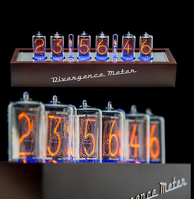 Z5660 Nixie Tubes Clock RGB Divergence Meter (as IN-18) FREE Delivery 2-5 Days • 506.48£