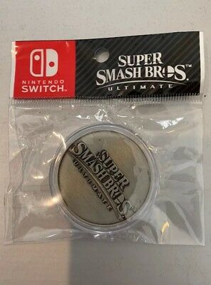 $14.99 • Buy Super Smash Bros Ultimate - Limited Edition Collectors Coin - Nintendo Switch