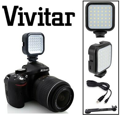 AU39.77 • Buy LED Light Kit With Power Set For Panasonic Lumix DMC-FZ70 DMC-LZ40