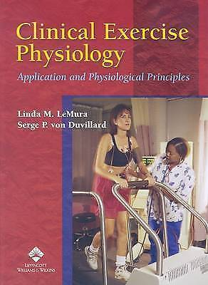 £12.46 • Buy Clinical Exercise Physiology: Application And Physiological Principles, Linda Le