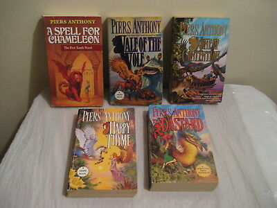 Piers Anthony, Xanth Paperbacks Lot Of 5 Each • 14.99$