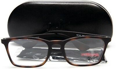 5b1c8531d7 NEW Ray Ban RB7045 5365 MATTE HAVANA EYEGLASSES GLASSES 7045 53-18-140 B39