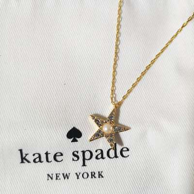 AU41.45 • Buy Nwt Kate Spade Seeing Stars Necklace W Dust Bag O0ru2609