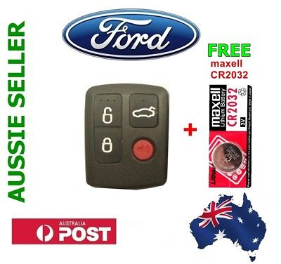 AU15.95 • Buy Ford Remote Control BA/BF Falcon Sedan/Wagon Keyless Entry 4 Button