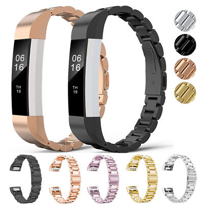 $ CDN9.92 • Buy Metal Stainless Steel Watch Band Strap For Fitbit Alta/Alta HR/Versa Wristband