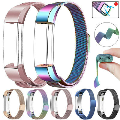 AU11.63 • Buy Replacement For Fitbit Alta HR/ Versa Magnetic Stainless Steel Watch Band Strap