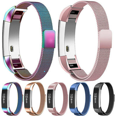AU12.46 • Buy Magnetic Milanese StainlessSteel Watch Band Strap For Fitbit Alta HR/Versa/Blaze