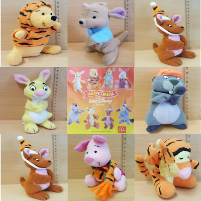 McDonalds Happy Meal Toy 2000 Winnie The Pooh + Friends Soft Toys - Various • 5.75£
