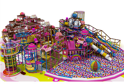 £137623.65 • Buy 4,500 Sqft Commercial Indoor Playground Themed Interactive Soft Play We Finance