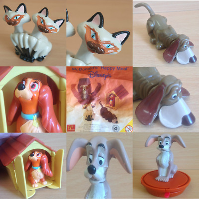 £6.75 • Buy McDonalds Happy Meal Toy 1997 Lady & The Tramp Dog Character Toys - Various