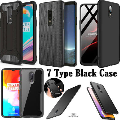 AU1.63 • Buy 7 Type For Oneplus 1+ 6T 6 5T 5 3T 3 Black Hard Shockproof Back Phone Case Cover