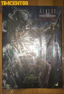 $ CDN868.21 • Buy Ready Hot Toys MMS443 Aliens Vs. Predator Requiem Wolf Predator Heavy Weaponry