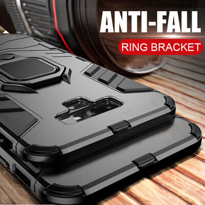 $ CDN4.39 • Buy Magnetic Ring Holder Armor Case Cover For Samsung Galaxy Note 9/S8 S9 Plus/A7 A8