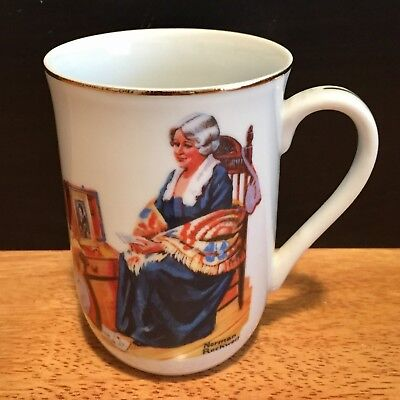 $ CDN6.81 • Buy Vintage 1982 Norman Rockwell Mug |  Memories  With Authenticity Seal