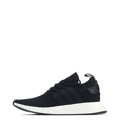 official photos 62a2b 9b4b7 Adidas Originals Nmd R2 Primeknit Hombre Zapatillas, Black Blanco Ex Return  • 107.81€