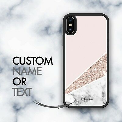 AU12.99 • Buy IPhone 11 Case Marble Personalized Custom Cover For IPhone XR X 7 IPhone 8 Plus