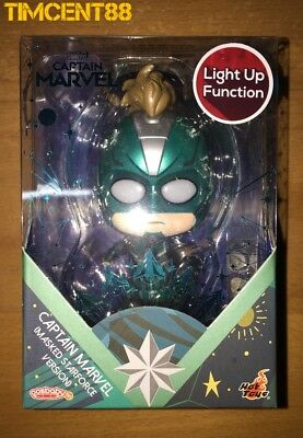$ CDN56.86 • Buy Ready! Hot Toys COS544 Captain Marvel (Masked Starforce) Light Up Cosbaby