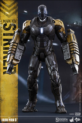 AU439.99 • Buy Marvel Hot Toys Iron Man 3 Mark XXV Striker 1:6 Scale Action Figure HOTMMS277