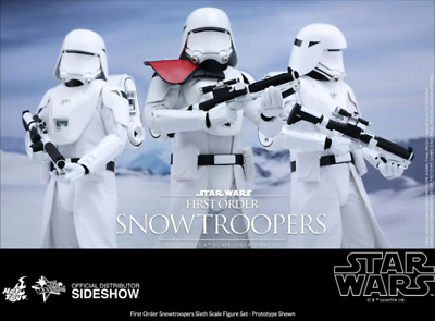 $ CDN541.59 • Buy Star Wars Hot Toys First Order Snowtrooper Set 1:6 Scale Action Figure HOTMMS323