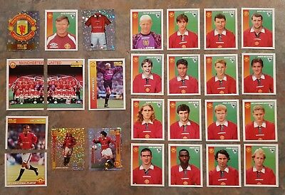 Merlin 97 (1997) Unused Football Stickers Manchester United - Various Players • 1.75£