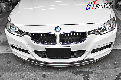 AU489.60 • Buy Carbon Front Lip Spoiler Ak Style For Bmw F30 F31 M Sport M-tech Only