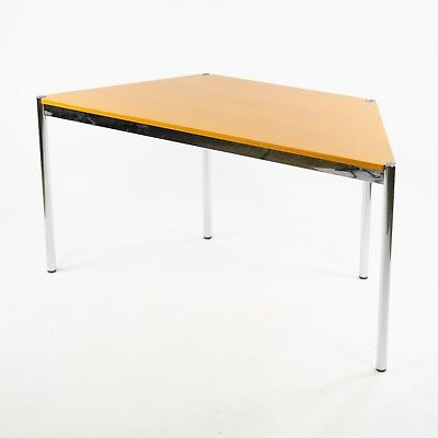 £358.54 • Buy USM Haller Beech Wood Trapezoid Table Modular 1500x740 Knoll Office Sets Avail