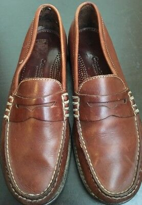 99f0e170777 Women s Cole Haan Brown Leather Penny Loafers Flats Shoes Size Sz US8 B •  48.99