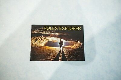 $ CDN26 • Buy 2002 ROLEX EXPLORER GMT I & II 114270 16570 ENGLISH Watch Booklet Manual