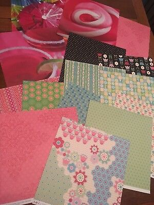 $44.99 • Buy OVER 250 Sheets 12x12  Scrapbook Paper Cardstock Huge Mixed Lot Holiday And More