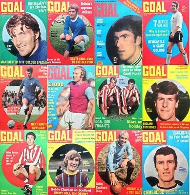 £2.70 • Buy Goal Football Magazine Front Cover Pictures - Various Teams (Lot 01)