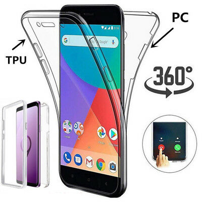 AU4.06 • Buy For Samsung Galaxy S21 Note 10 Plus S9 360° Protective Clear Hybrid Cover Case