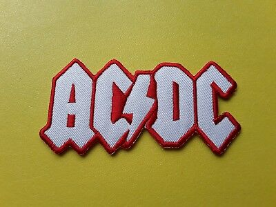 £3.29 • Buy AC/DC Patch Embroidered Iron On Or Sew On Badge
